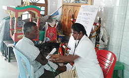 Blood pressure checkup