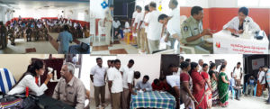 Collage of patients