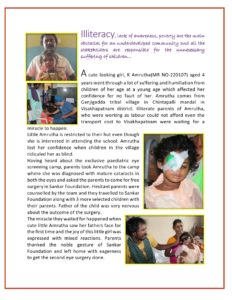 K Amrutha Vision Patient